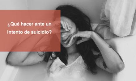 ¿Qué hacer ante un intento de suicidio?